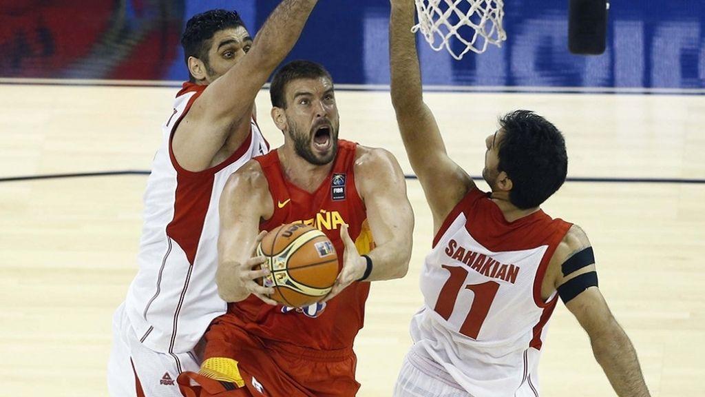 Mundial Baloncesto, Irán-España