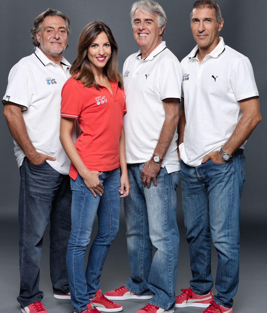 Pepu Hernández, Siro López, José Miguel Antúnez y Mª Victoria Albertos