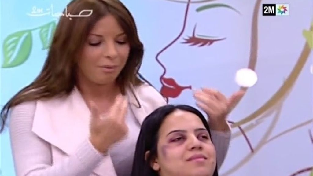Marruecos. Maquillaje para tapar los malor tratos
