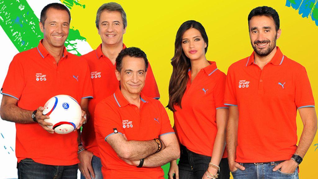 El equipo de Mediaset Sport