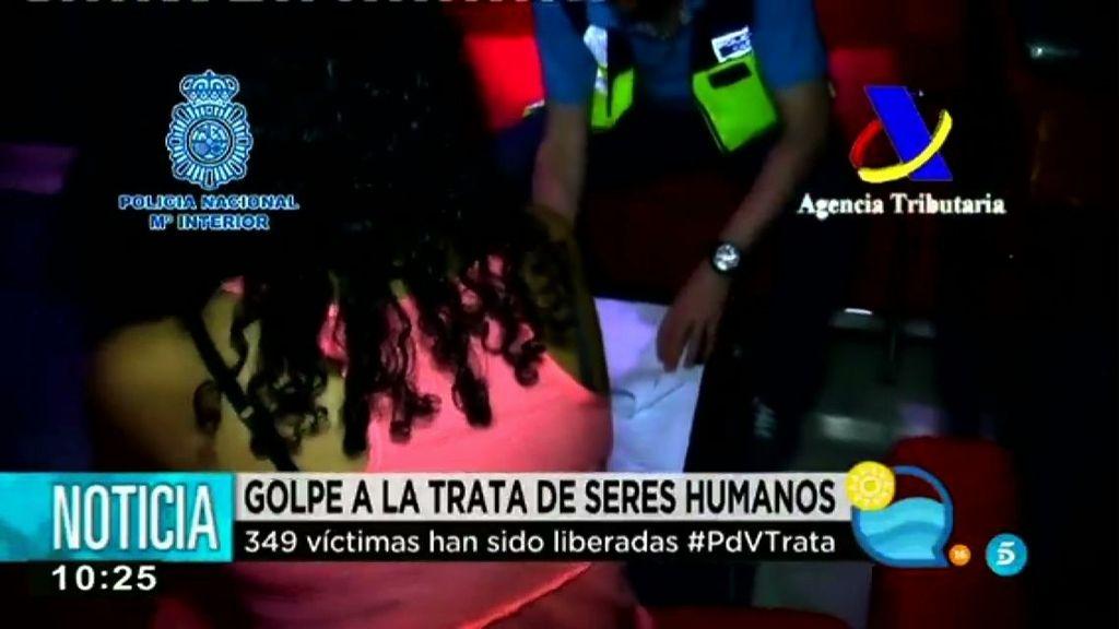 Una operación policial desmantela a 5 organizaciones que explotaban a mujeres