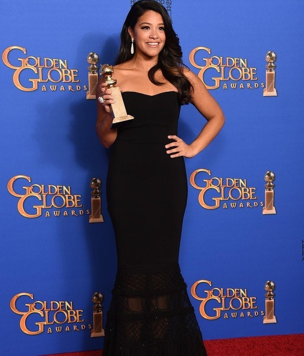 Gina Rodriguez. Globos de Oro