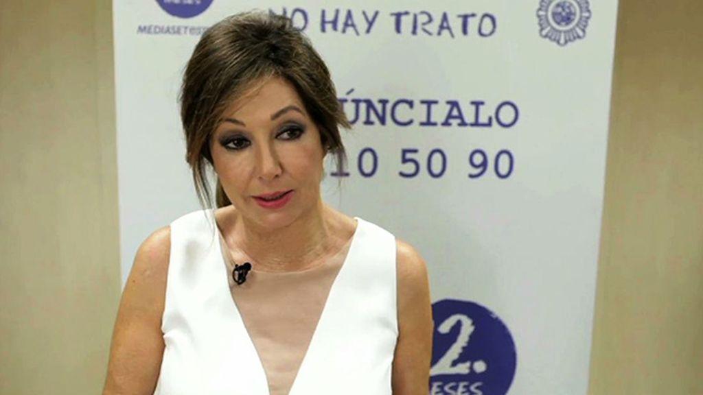 """Ana Rosa Quintana: """"Para que la Policía trabaje es muy importante que los ciudadanos les den pistas"""""""