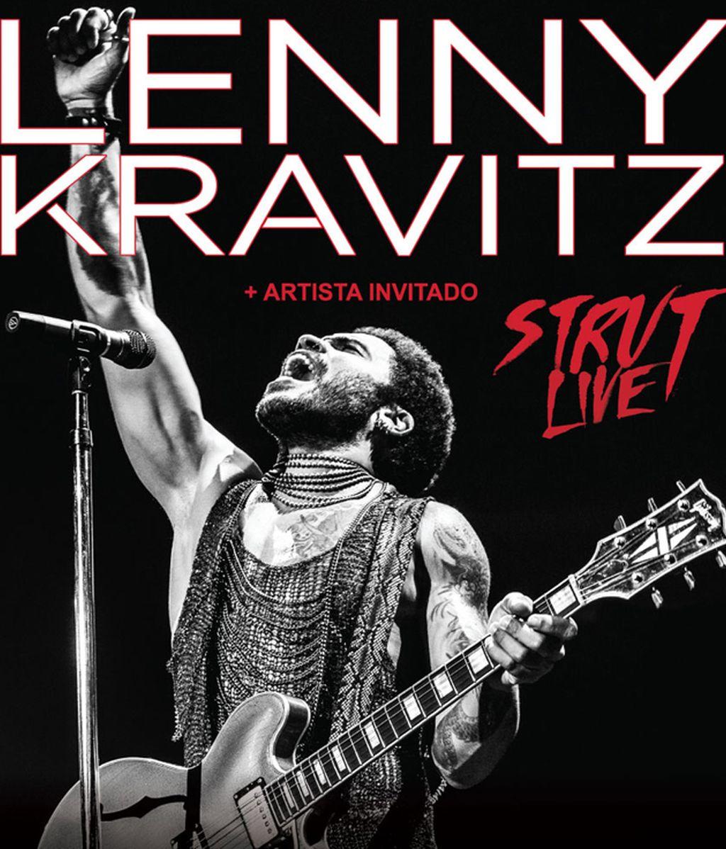 Hazte con tus entradas para Lenny Kravitz en Madrid, 20 de julio en Taquilla Mediaset.