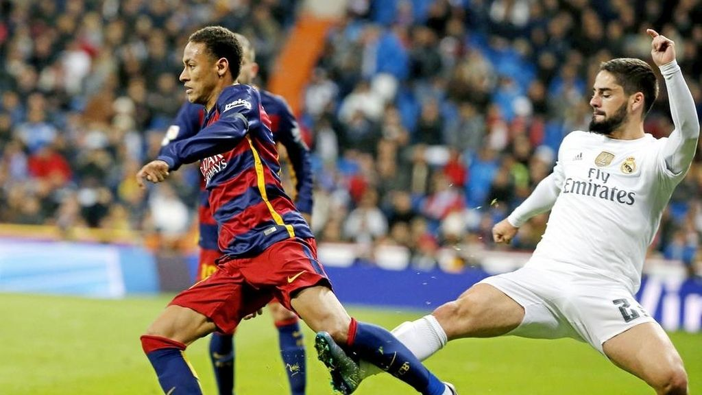 Isco y Neymar
