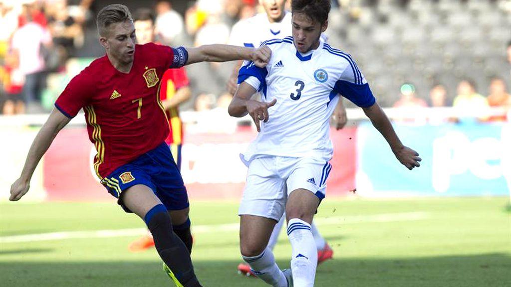 Eurocopa sub 21, delantero Gerard Deulofeu