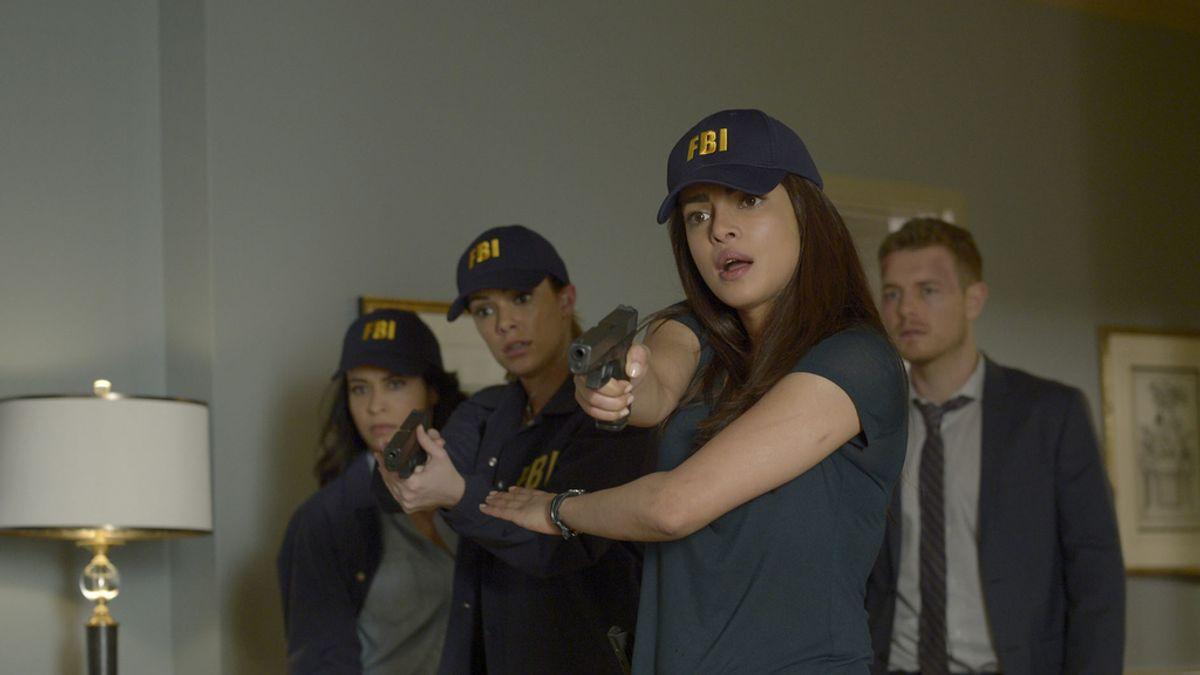 Priyanka Chopra es Alex Parrish en la serie de Cuatro 'Quantico'