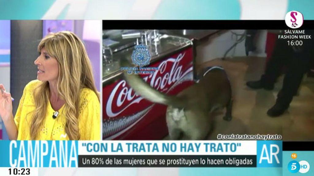 """Carmen Carcelén: """"Si el cliente sabe que esa mujer está sufriendo esclavitud sexual, se le puede imputar un delito"""""""