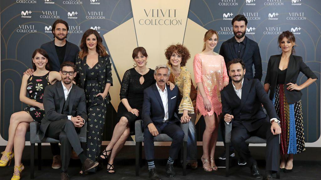 Presentación de la serie 'Velvet colección', de Movistar+