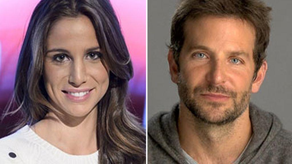 Lucía Villalón y Bradley Cooper