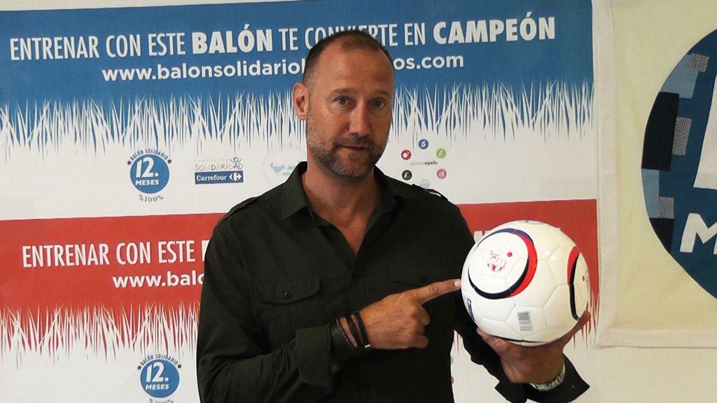 Pedro García Aguado te quiere enseñar qué es lo que puedes hacer con el Balón Solidario