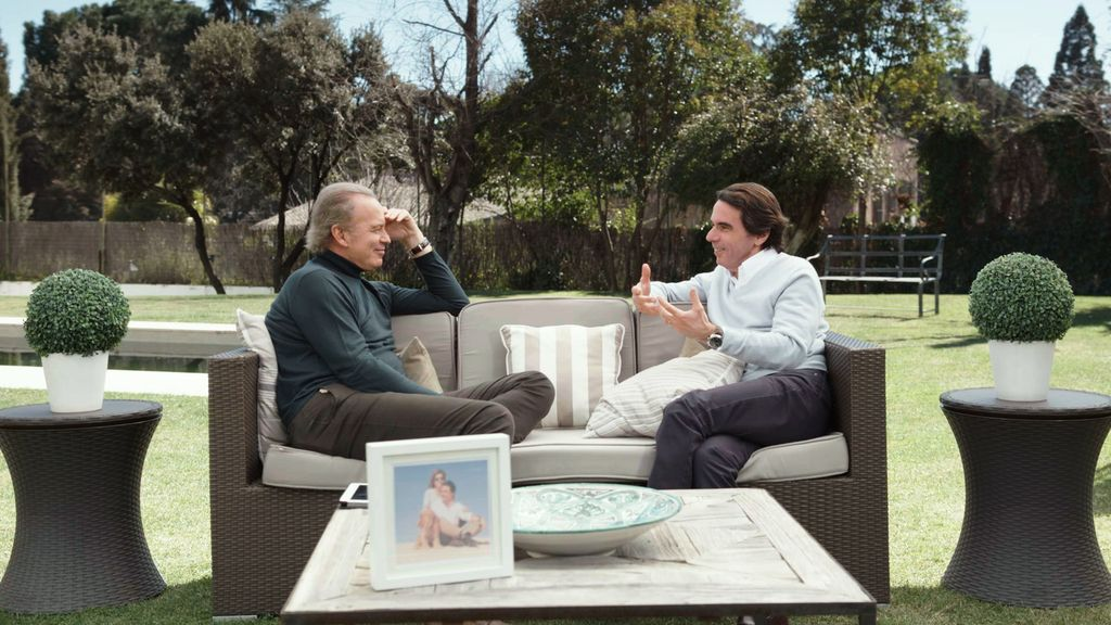 José María Aznar en 'Mi casa es la tuya'