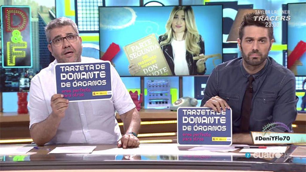 """Florentino Fernández: """"Hazte la tarjeta de donante porque eres perfecto para otros"""""""