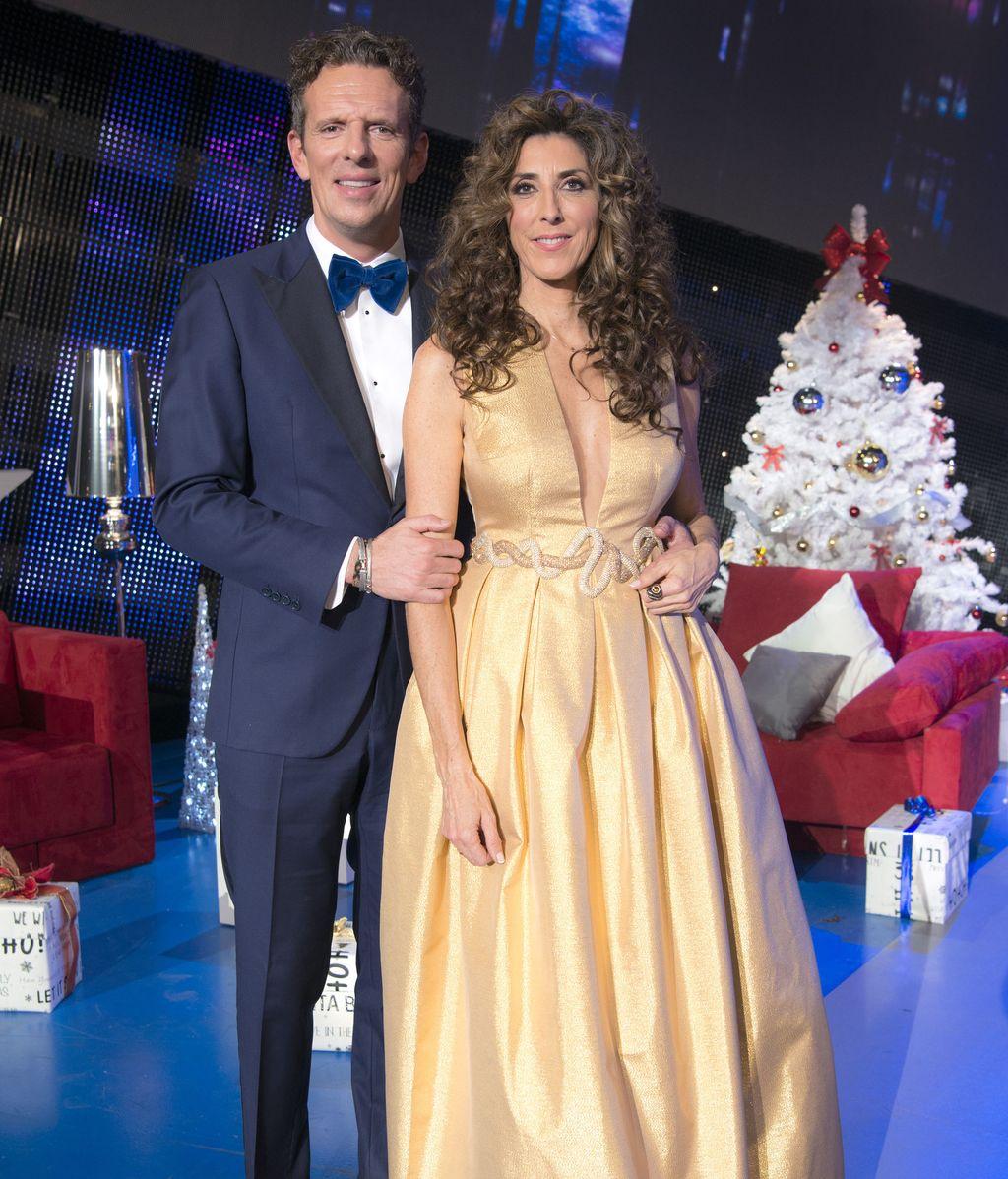 Paz Padilla y Joaquín Prat en la Gala Fin de Año 2016