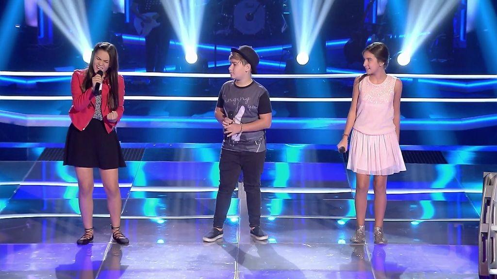 Celia, Dani y Alexandra, la 'batalla de las batallas' al resucitar a Whitney Houston