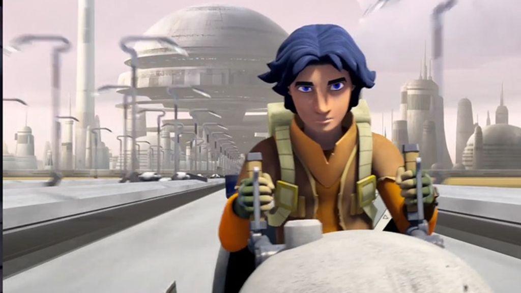 Soldados imperiales y pistolas láser en los primeros siete minutos de 'Star wars rebels'