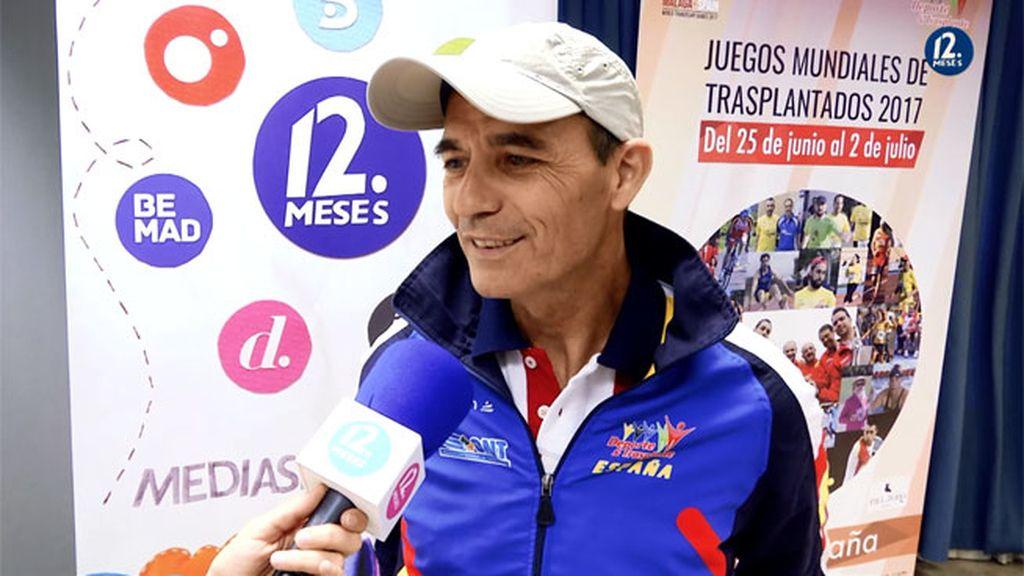 """Joaquín, deportistas trasplantado: """"Tras mi primer maratón me sentí vivo"""""""