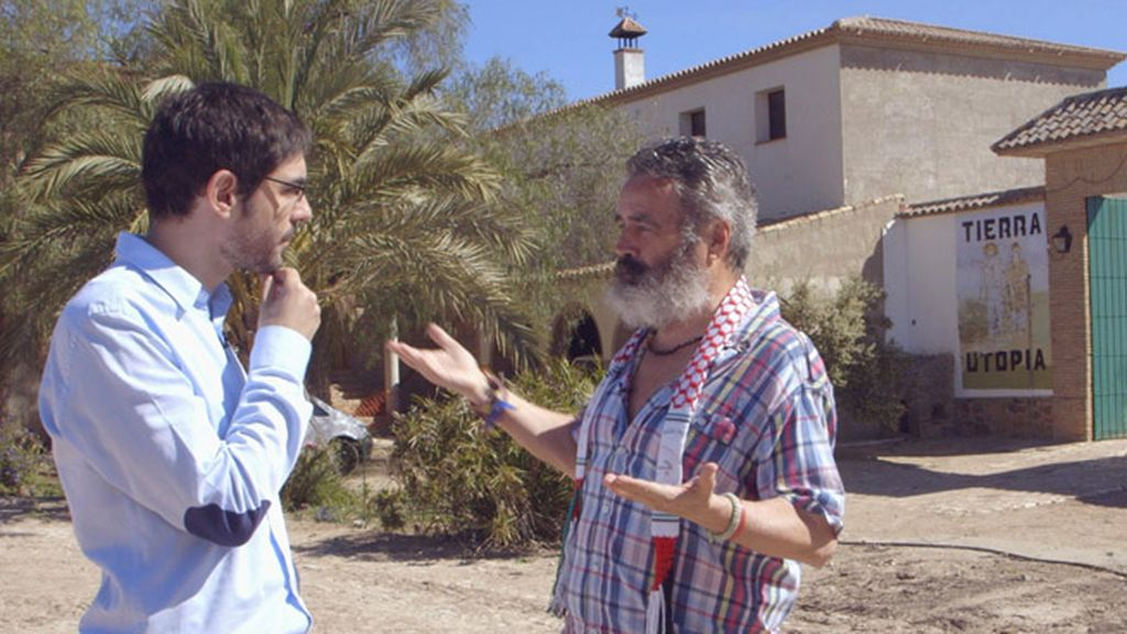 Juanra Bonet confunde Marinaleda con una comuna okupa