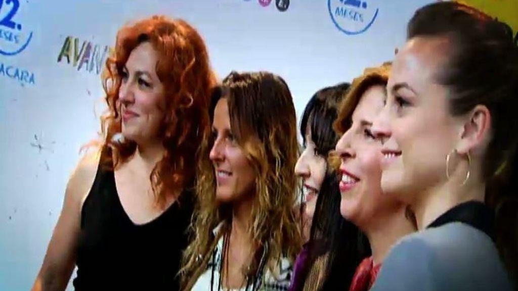 Sálvame, en la presentación de 'Avanzadoras', homenaje a las mujeres