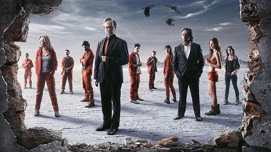 Cartel de la serie de Mediaset España 'Supermax'