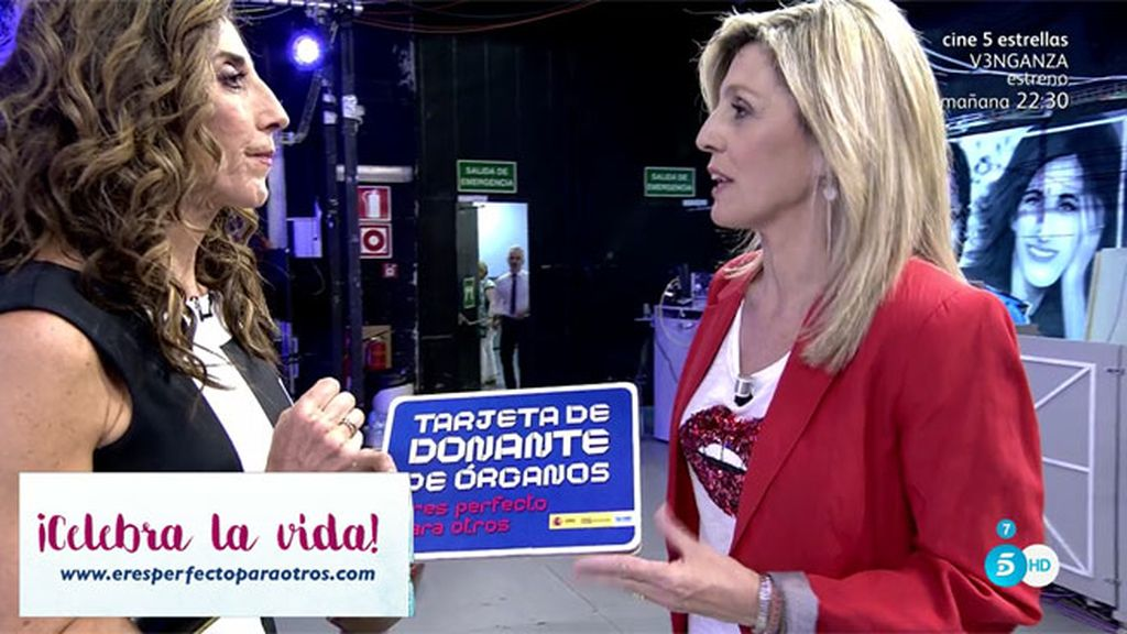 """Eva Pérez: """"Lo más importante es saber que quieres ser donante y comunicarlo"""""""