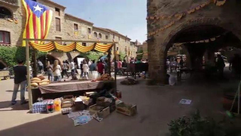 Castellers y calçots en la segunda parte de 'Ocho apellidos vascos'