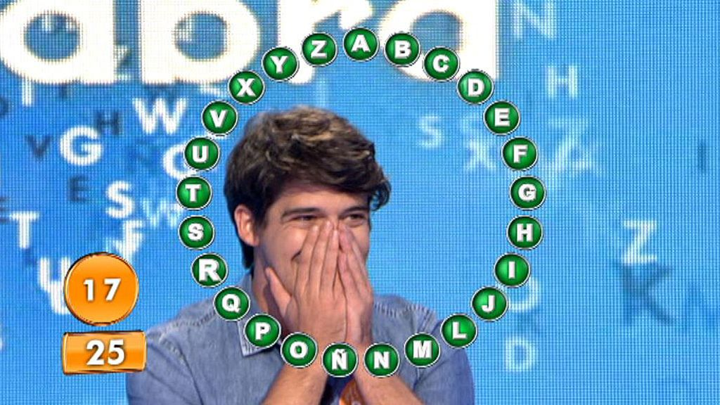 David Leo bate todos los premios récord de Telecinco con el bote de 'Pasapalabra'