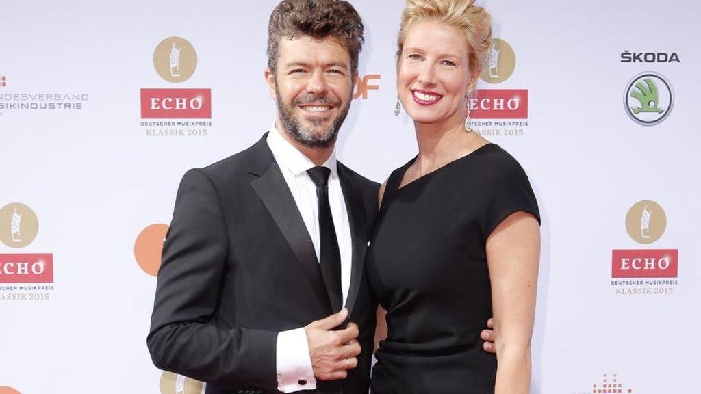 Pablo Heras Casado y Anne Igartiburu