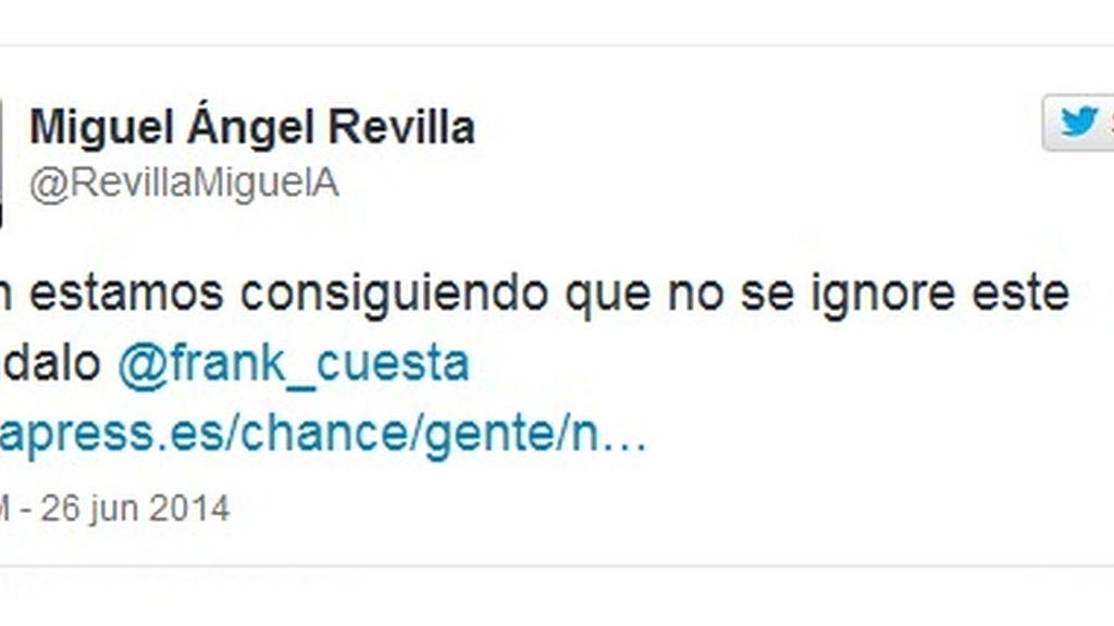 Tuit Miguel Ángel Revilla, #freeyuyee