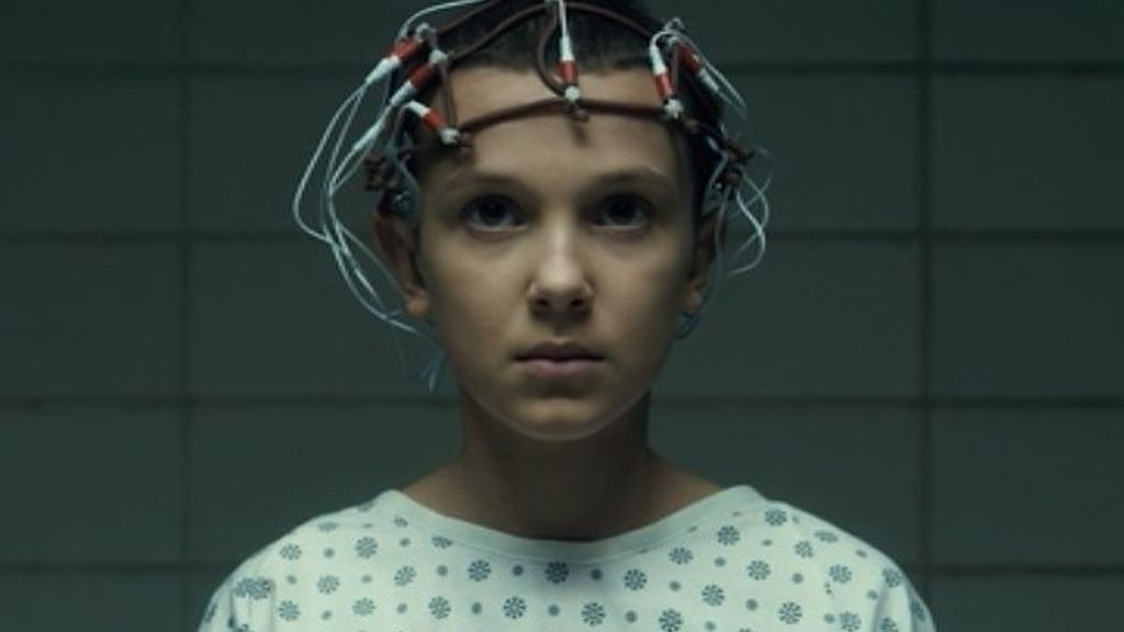 Millie Bobby Brown es Once en 'Stranger things'