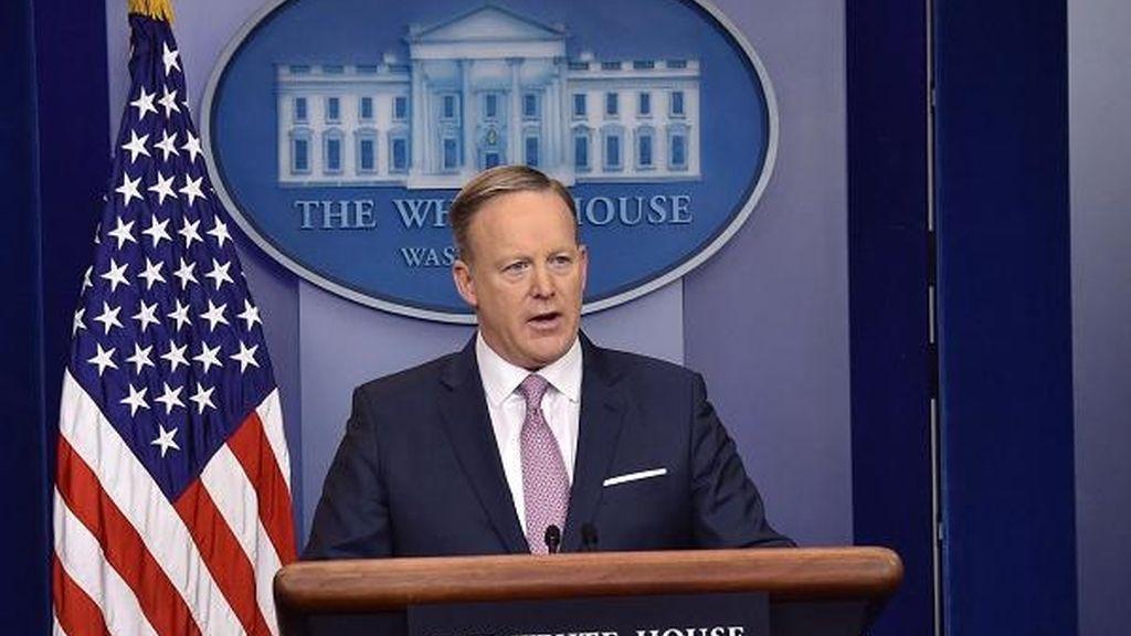 Sean Spicer en la Casa Blanca