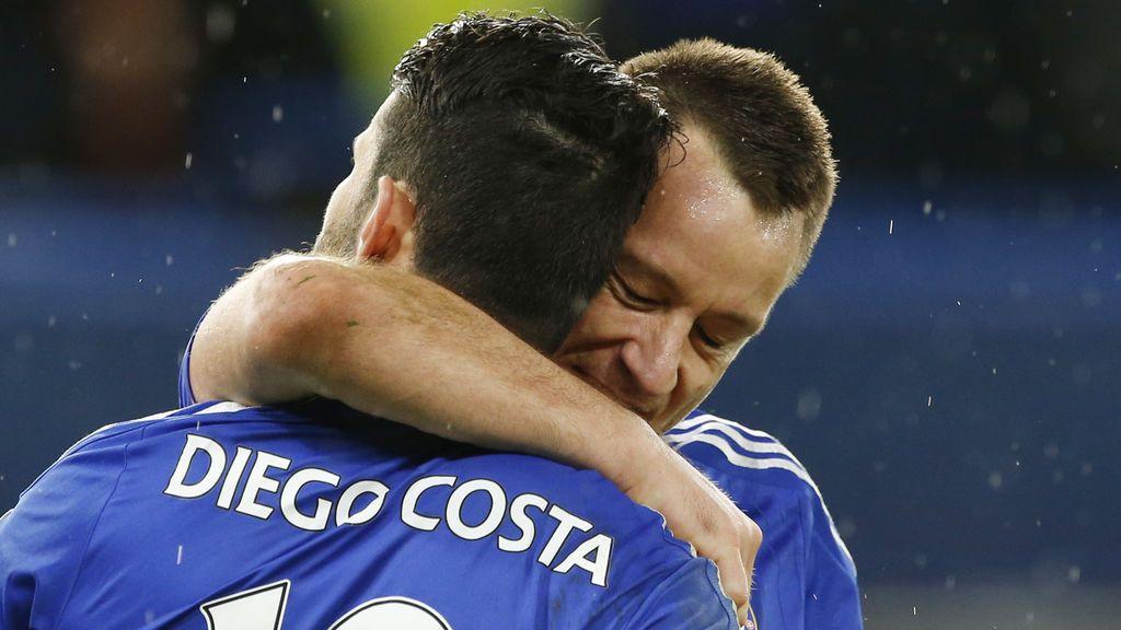 """La preciosa carta de despedida de Terry a Diego Costa: """"Un jugador infravalorado, lo dio todo por el Chelsea"""""""