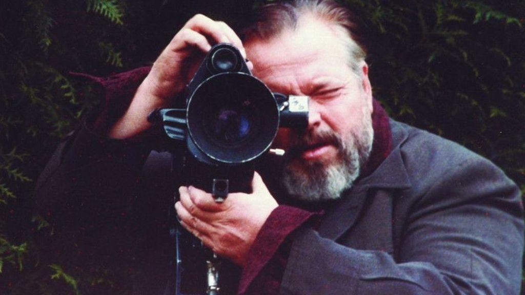 Orson Welles, con la cámara al hombro