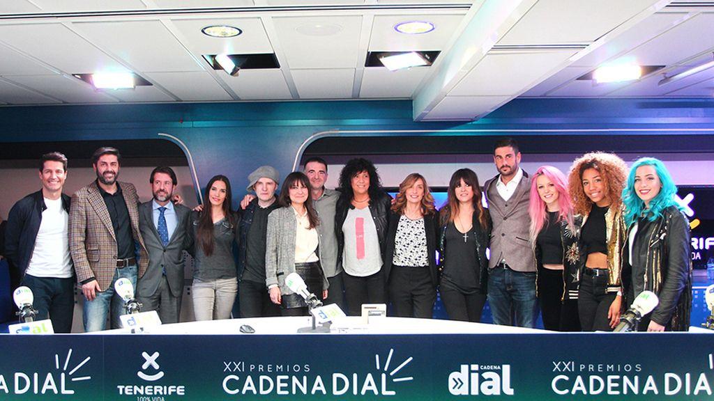 XXI Premios Cadena Dial con Turismo de Tenerife