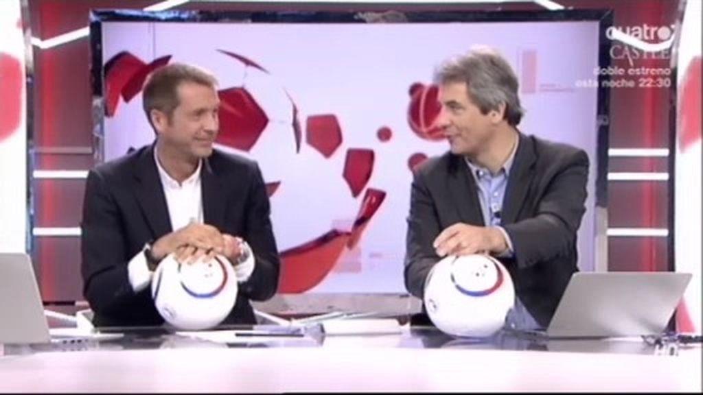 Los Manolos presentan el 'Balón Solidario', una iniciativa lanzada desde 12 meses