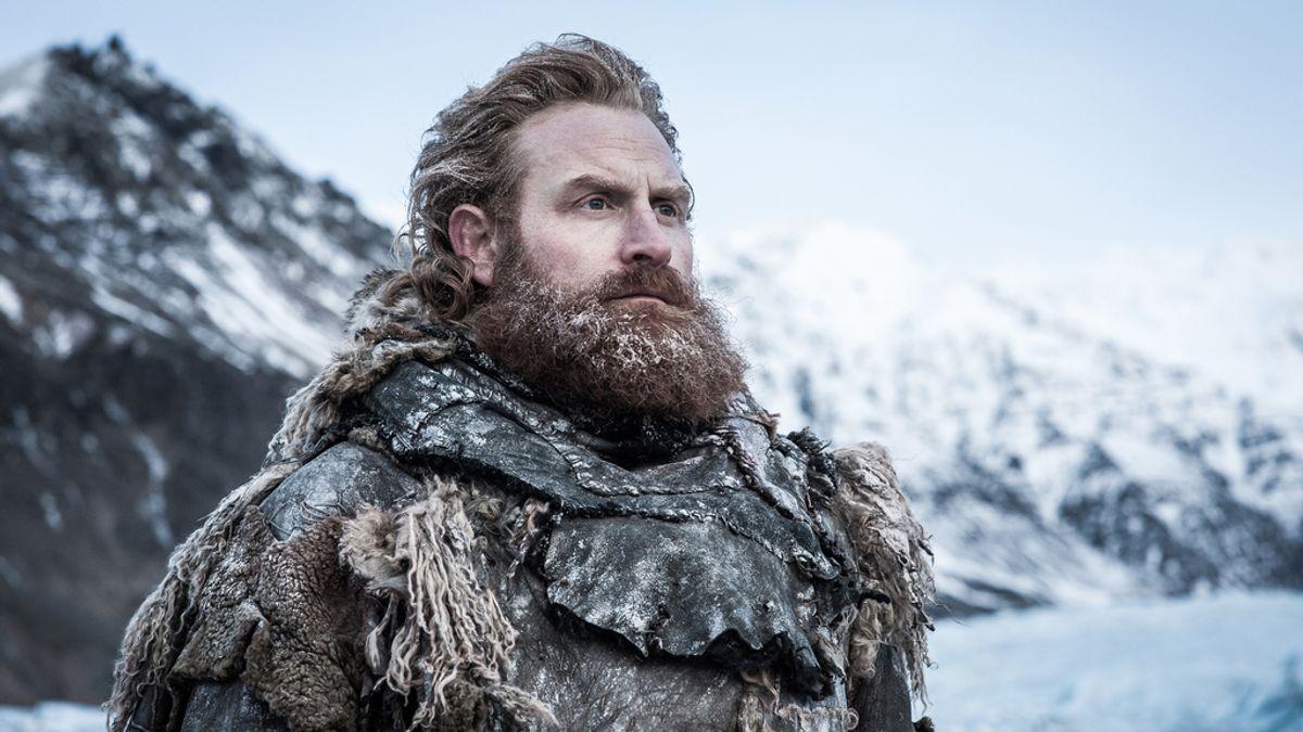 Kristofer Hivju (Tormund), en una escena del sexto capítulo de la séptima temporada de 'Juego de tronos'