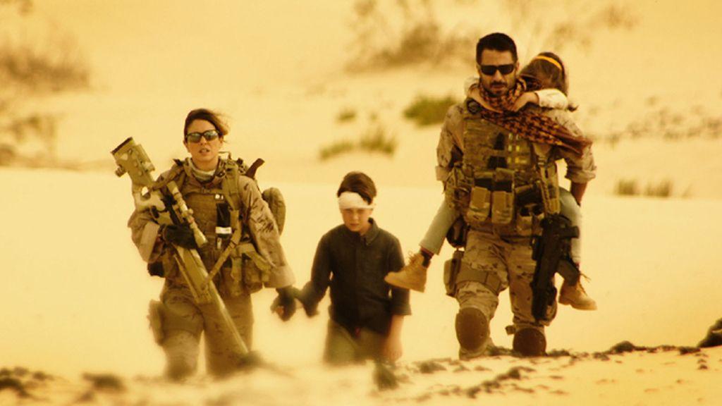 Emboscada a 'Los nuestros' en el segundo episodio de la miniserie de Telecinco
