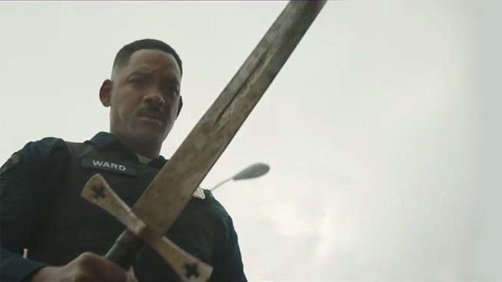 Will Smith patrulla entre seres humanos, orcos, duendes y hadas en 'Bright'