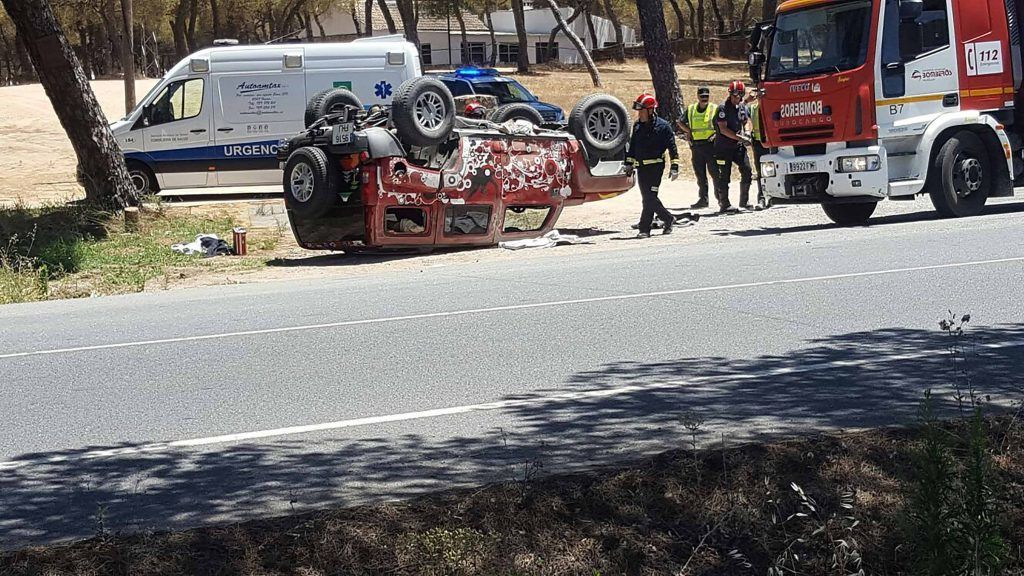 Jesús Quintero. Accidente en Huelva