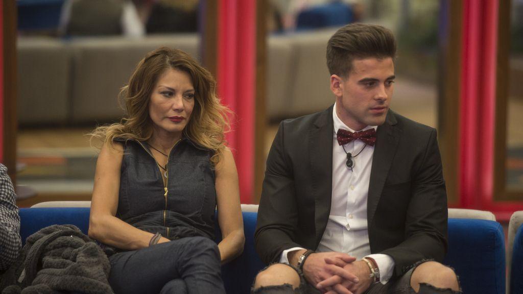 Ivonne y Sergio en 'GH VIP 5'
