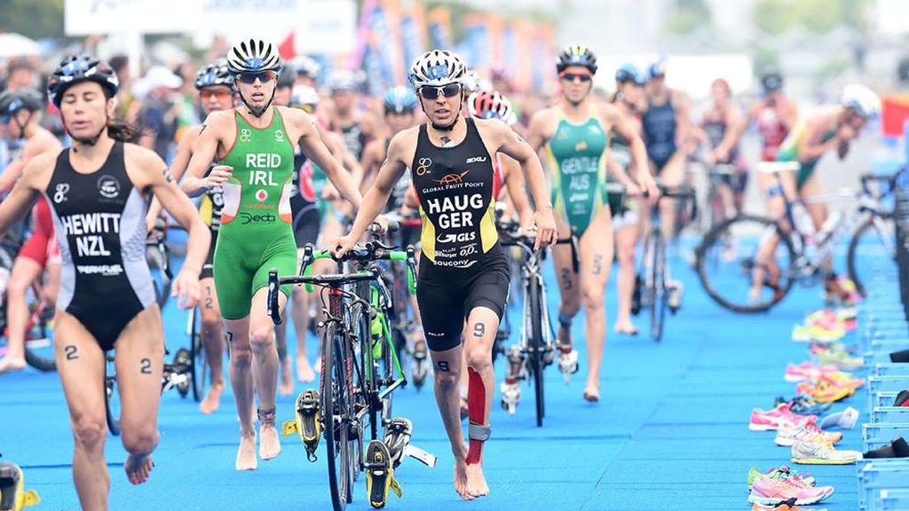 Yokohama triathlon series en mayo de 2017