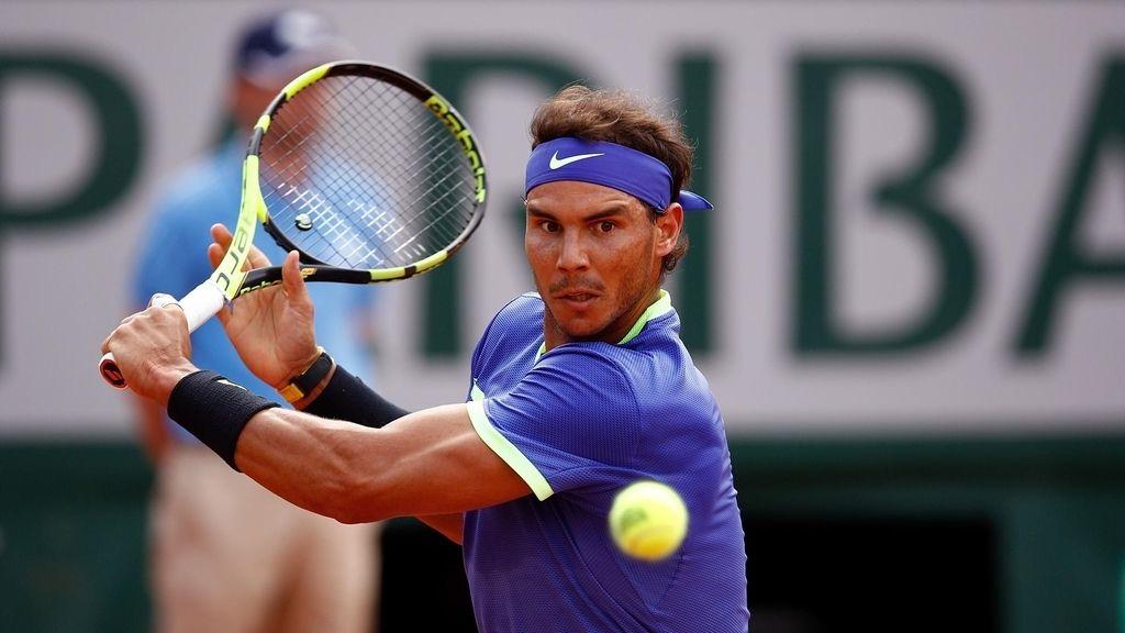 Rafa Nadal en Roland Garros 2017