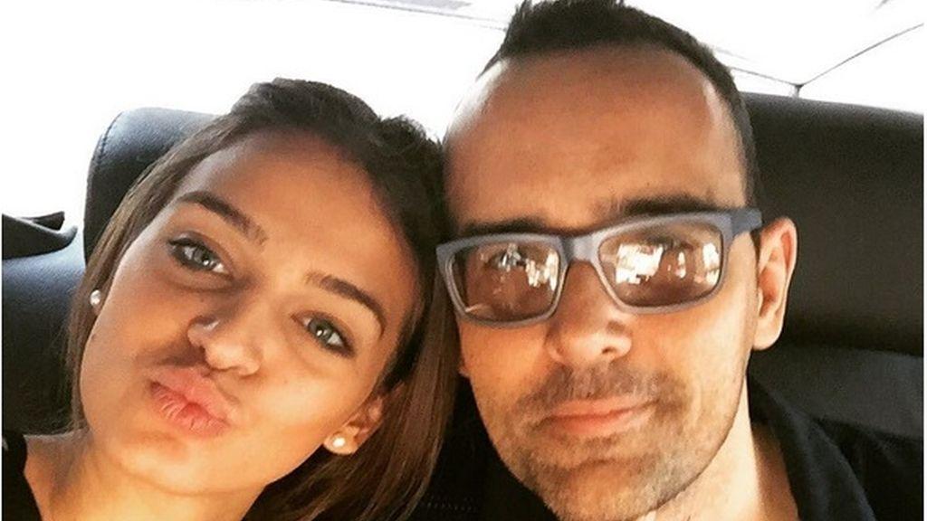 Risto Mejide y Laura Escanés