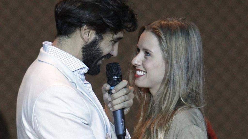 Álex García y Manuela Vellés