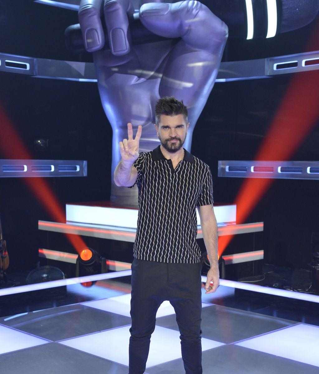 Juanes, 'coach' de la quinta edición del programa de Telecinco 'La voz'