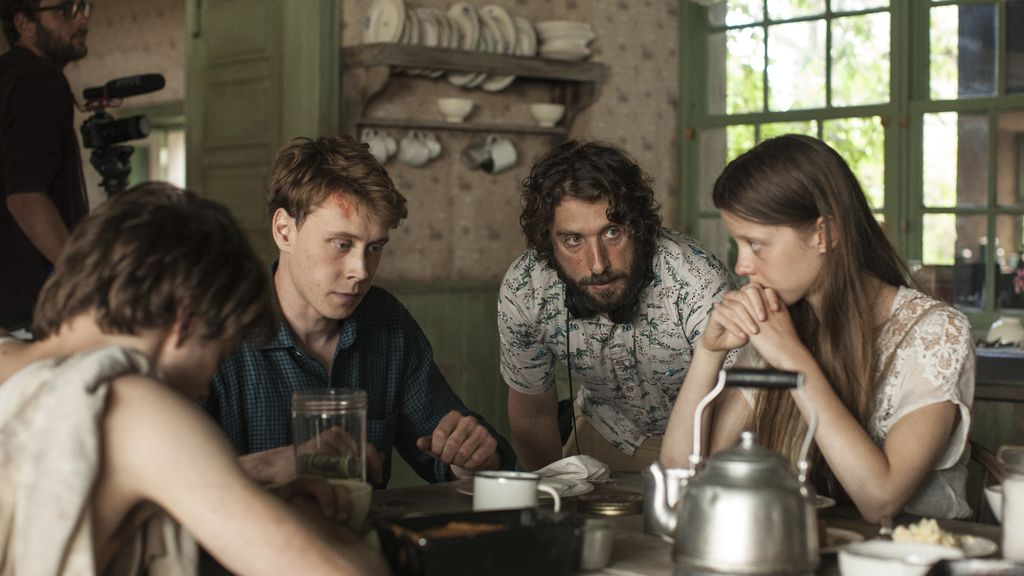 Rodaje de 'El secreto de Marrowbone'
