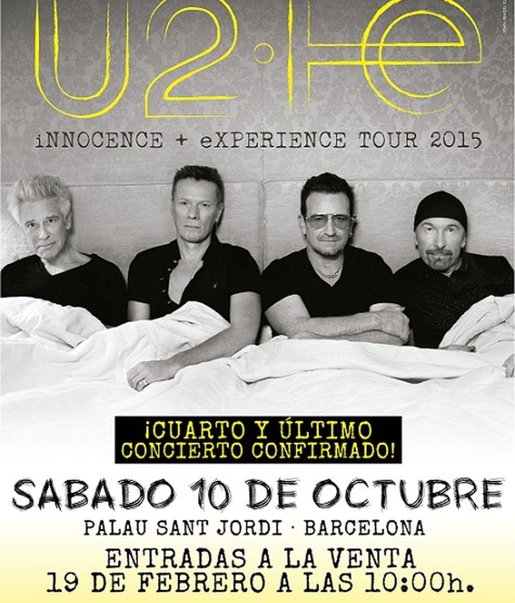 ¡¡Cuarto y último concierto para la gira de U2 en España!!