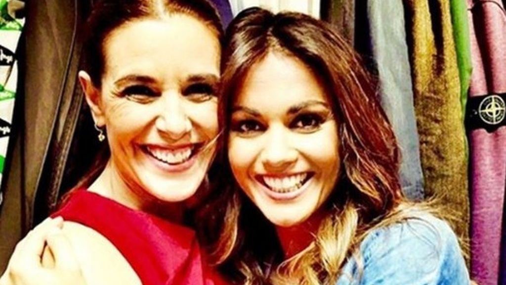 Raquel y Lara