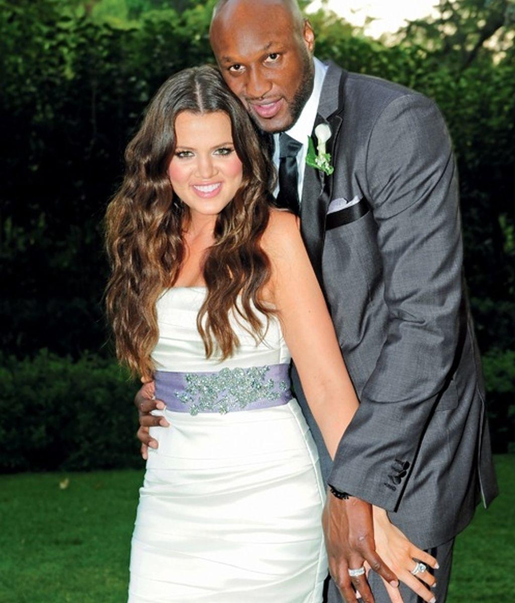 Khloe Kardashian y Lamar Odom