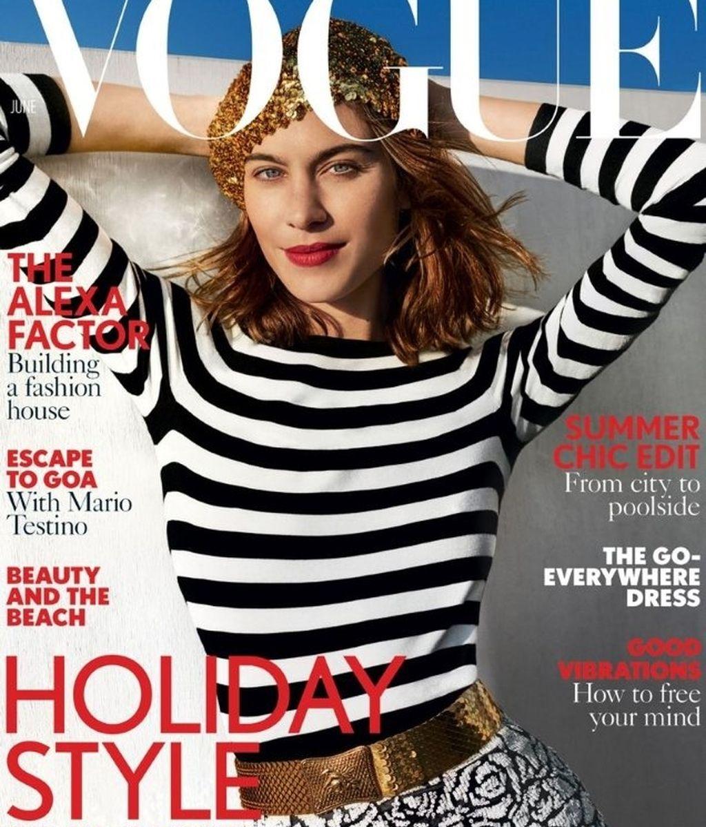 Portada de la revista 'Vogue' de junio de 2017